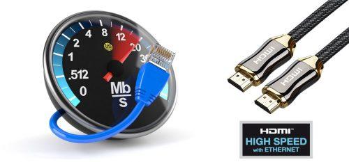 Скорость интернета и кабель